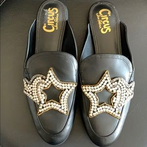 Circus by Sam Edelman Leather Mules/Flats NWOB